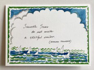 Smooth Seas Notecard