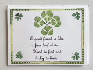 St. Patrick's Day Notecard