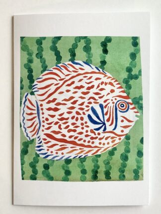 Happy Fish (9) Notecard