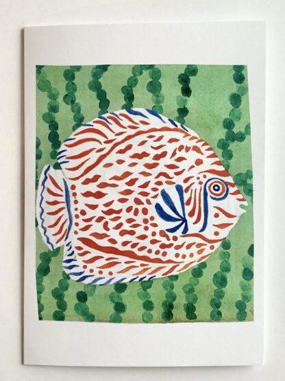 Happy Fish (9) Notecard