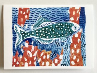Happy Fish (5) Notecard