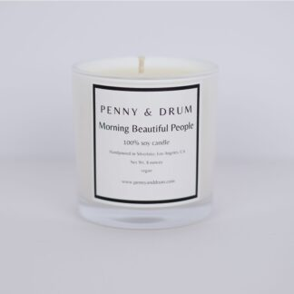 Morning Beautiful People Candle by Penny & Drum