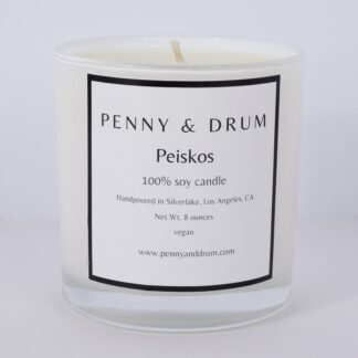 Peiskos Candle by Penny & Drum