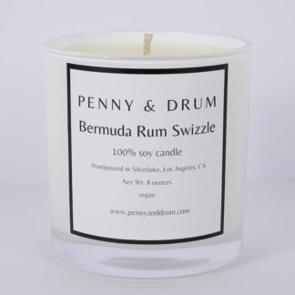 Bermuda Rum Swizzle Candle by Penny & Drum
