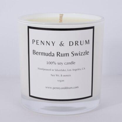 Bermuda Rum Swizzle Candle by Penny & Drum