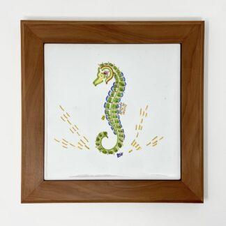 "Seahorse Bermuda Cedar Trivet - Small (8"")"