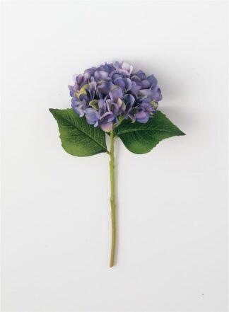 Hydrangea Stem in Dark Lavender