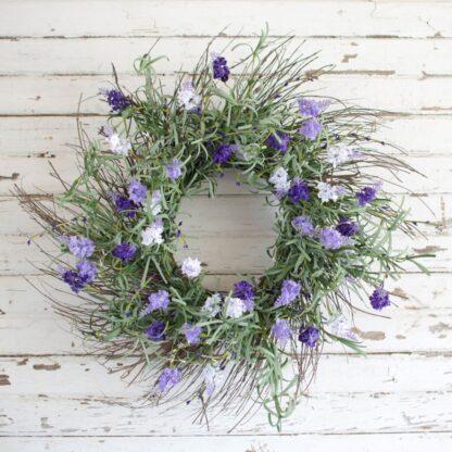 Garden Lavender Wreath