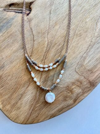 Pearl Multi-Layered Necklace