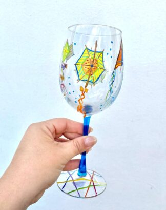 Bermuda Kite Wine Glass