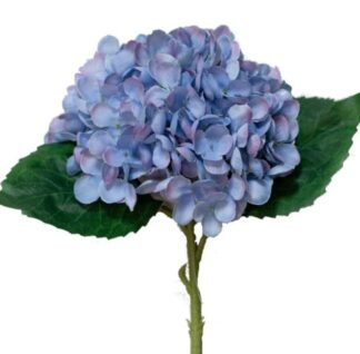 Hydrangea Stem in Purple/Blue