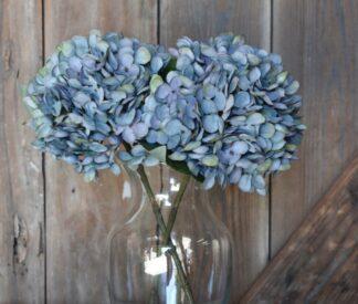 Hydrangea Stem in Dusty Blue