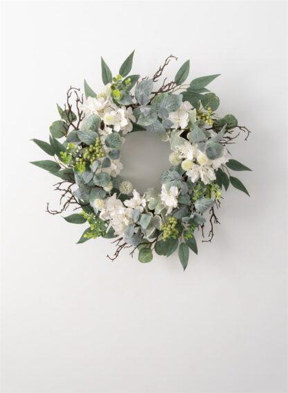 Hydrangea Foliage Wreath