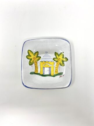 Yellow Buttery Dip Dish