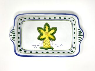 Palm Tree Small Butter Tray