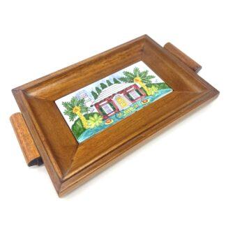 Bermuda Cottage Petite Wood Tray