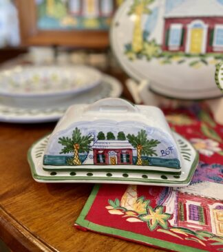 Three Butteries Covered Butter Dish