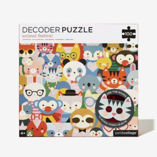 Decoder Puzzle Animal Festival