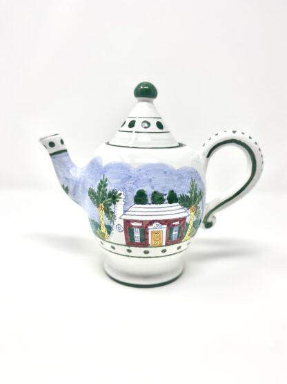 Bermuda Cottage Petite Teapot