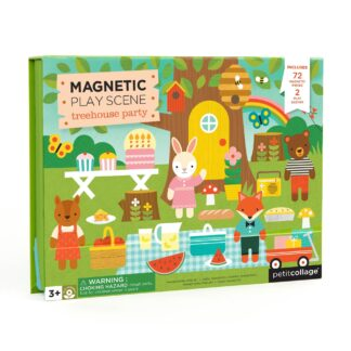 Magnetic Play Scene Treehouse Party
