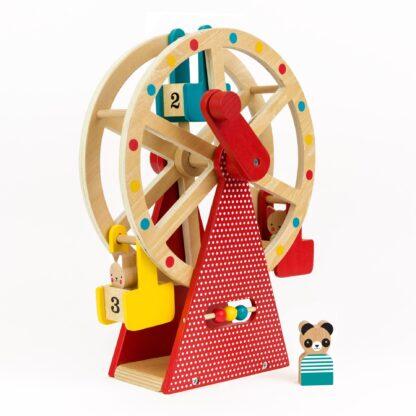 Wooden Ferris Wheel Carnival Play Set