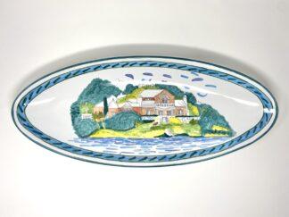 Bermuda Home Narrow Oval Platter