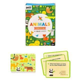 Animal Trivia Quiz Cards