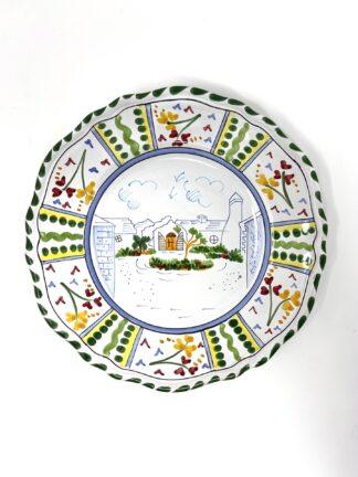 Bermuda Home Scalloped Plate