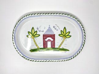 Pink Buttery Oval Platter