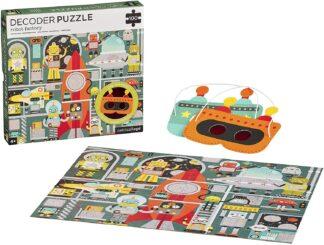 Robot Factory 100-Piece Decoder Puzzle
