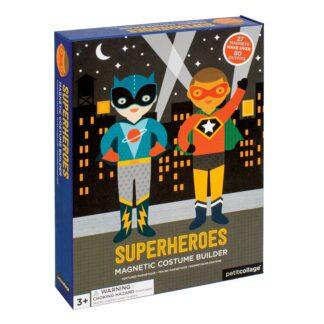 Superheroes Magnetic Dress Up Play Set
