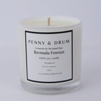 Bermuda Freesias Candle by Penny & Drum