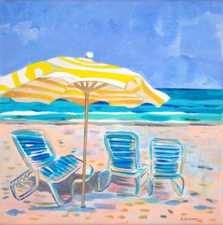 Beach Series 6 Original Painting