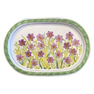 Bermudiana Oval Platter