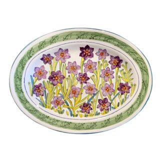 Bermudiana Small Oval Platter