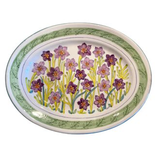 Bermudiana Large Oval Platter