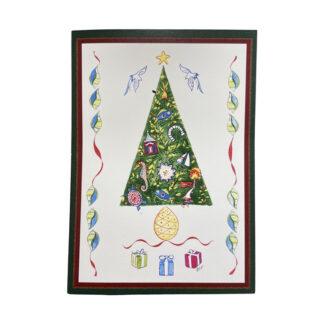 Christmas Tree Notecard
