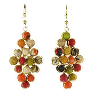 Kantha Diamond Earrings