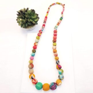 Kantha Mask Chain/Necklace